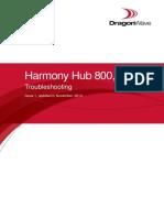 Harmony Hub 800, R2-6, Troubleshooting, Issue 1