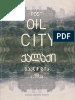 15 | Post Oil City | The history of city's future | Georgia | Philadelphia Urban Voids | pg.54-55