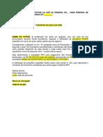 Modelo Pagamento Independente Dos Honorários Contratuais Por RPV