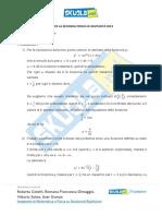 Soluzione Matematica simulazione 28 febbraio 2019 Def