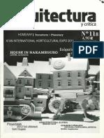 11 | Pasajes Arquitectura | – | 118 | Spain | America Iberica | Ecopolis Plaza | pg. 36-3