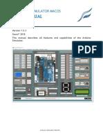 Userguide ArduinoSimulator MacOS Englisch