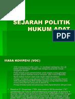 sejarah-politik-hukum-adat.ppt