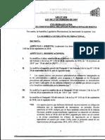 Ley 1154 Ampliación Del Perdonazo Tributario