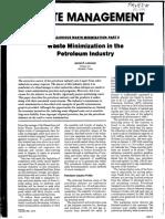 Drilling Waste Minimization