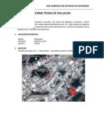 Informe Situacional Cei Santa Teresita