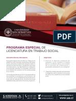 Ficha Web - Programa Especial Licenciatura Trabajo Social Web