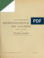 Das Sogennnate Religionsgespräch Am Hof Der Sasaniden.pdf
