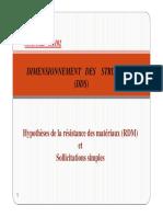 001-Dimensionnement Des Structures