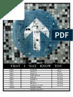 Knowing God Study-2006 Version