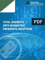 Biometric Payment Survey Report_GBL_AUG18