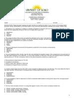Quiz 1 - Fundamentals CA