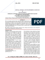 MODELING AND SIMULATION OF SIX-PHASE PERMANENT MAGNET SYNCHRONOUS MOTOR DRIVE