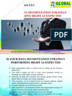 Is Your Data Segmentation Strategy Performing Right as Expected