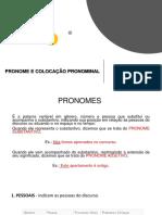 Pronome e Colocação Pronominal