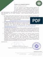 Comunicado Jesuitas Bolivia