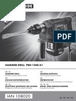 PHB1500 Rotopercutor HR RO BG EL