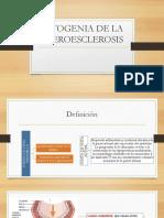 Patogenia de La Ateroesclerosis