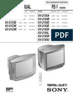 Sony Kv 21c5r