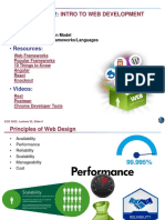Web Application Model Web Development