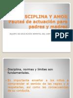 Disciplina y Amor