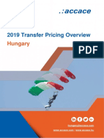 2019 Transfer Pricing Overview for Hungary