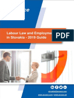 Labour Law and Employment in Slovakia – 2019 Guide