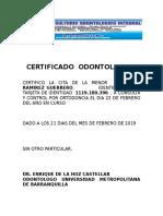 CERTIFICADO  ODONTOLOGICO.docx