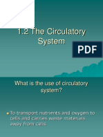 1.2 the Circulatory System Introduction
