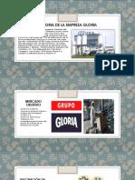Historia de La Empresa Gloria