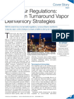 Recent Air Regulations - Impact on Turnaround Vapor Deinventory Strategies