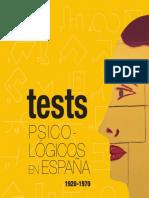Los Tests Psicológicos en España