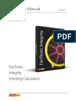 Manual for Fantestic Integrity Venting Calculator