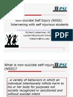 LiebermanPSI NSSI-Webinar 2015