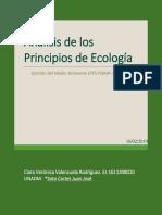 PRINCIPIOS DE LA ECOLOGÍA