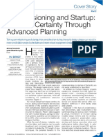 Commissioning and Startup - Increase Certainty Through Advanced Planning