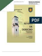Diez.- La Responsabilidad Civil Del Concesionario de Obras Viales y Su Fundamento en La Obligación de Seguridad Respecto de Los Usuarios en El Derecho Chileno - JLD