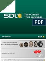 SDL Language Technology [French]