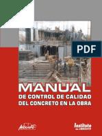 Manual ASOCRETO, Control de Calidad Concreto