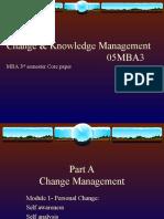 Change & Knowledge Management 1