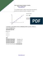 CASIo regresión lineal