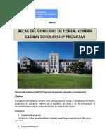 Oportunidades Educativas en Corea Del Sur