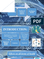 Impacts of Digitalization on Human Health