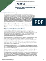 Capítulo 2_ Factores Que Condicionan La Producción
