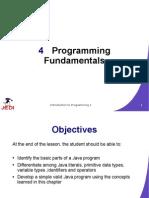 JEDI Slides Intro1 Chapter 04 Programming Fundamentals