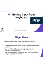 JEDI Slides-Intro1-Chapter 05-Getting Input From Keyboard