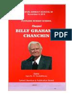 Billy Grahama Chanchin