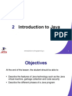 JEDI Slides Intro1 Chapter02 Introduction to Java