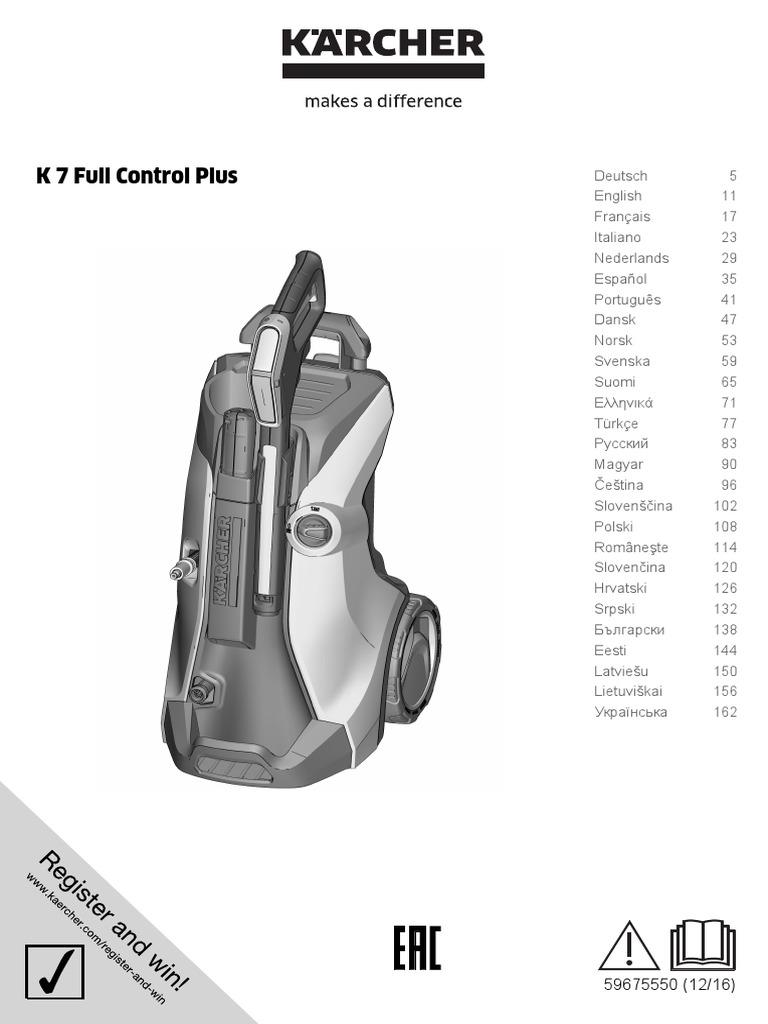 Kärcher K7 Full Control Plus 1 317 030 0