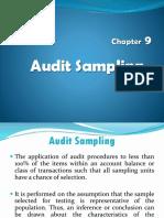 Audit Sampling (Chapter 9)